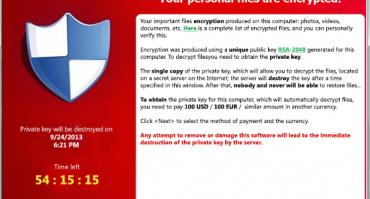 CryptoLocker – Ett farligt utpressningsprogram