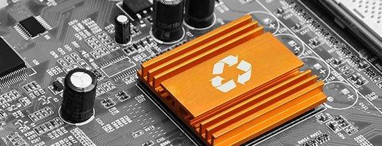 Återvinning datorer