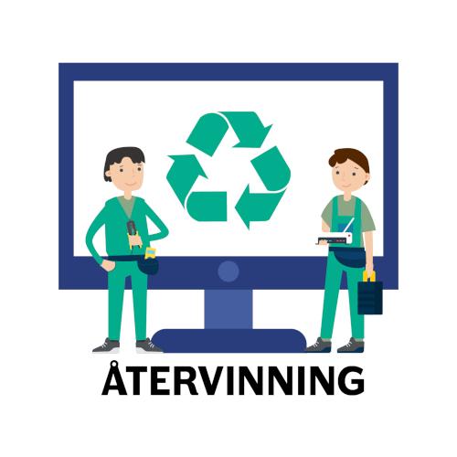 datorsupport - återvinn dina datorer